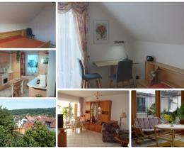 Collage 1 Ferienhaus Mey - Ferienwohnung - Urlaub - Kur - Bad Salzungen