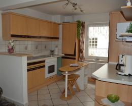 offene Küche -Ferienhaus Mey - Ferienwohnung - Urlaub - Kur - Bad Salzungen