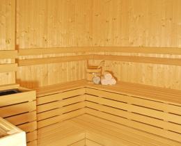 Finnische Saune im Spa solewerk Hotel