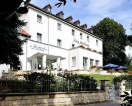 """Aussenansicht Hotel """"Haus Hufeland"""""""