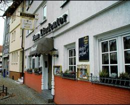 "Eingang Hotel ""Zum Lindentor"""