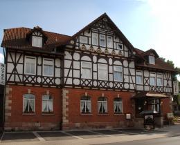 """Außenansicht Gaststätte & Hotel """"Weißes Roß"""""""