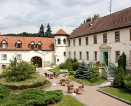 Innenhof Hotel Fröbelhof
