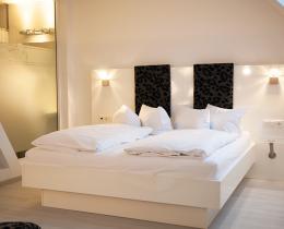 Doppelzimmer Stil Mondrian solewerk Hotel