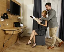 Doppelzimmer Stil Südtirol solewerk Hotel